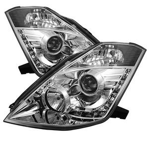 Spyder Auto Nissan 350z 03 05 Projector Headlights