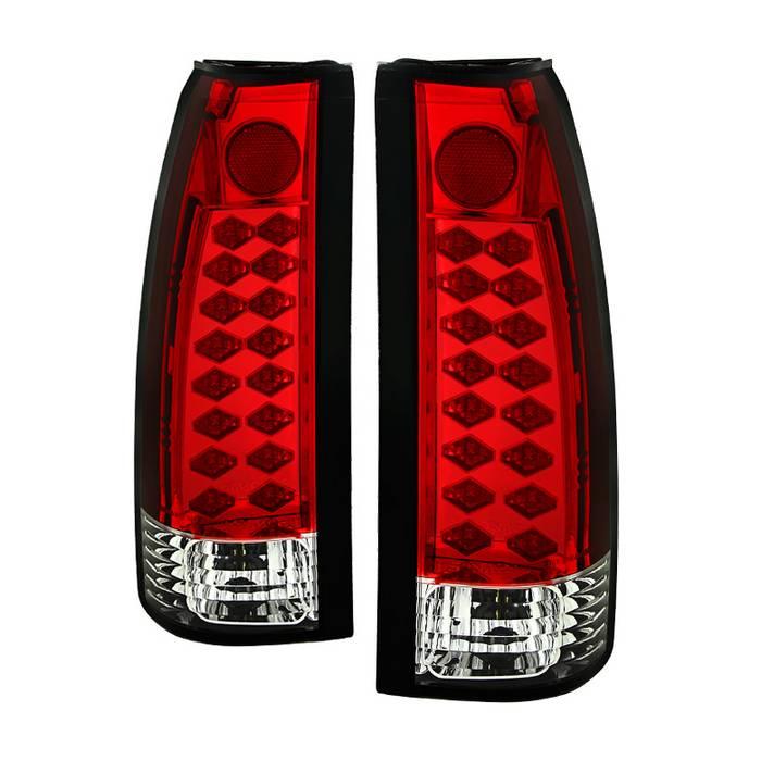 for Chevy C//K Series 1500//2500//3500//GMC Sierra LED Tail Lights