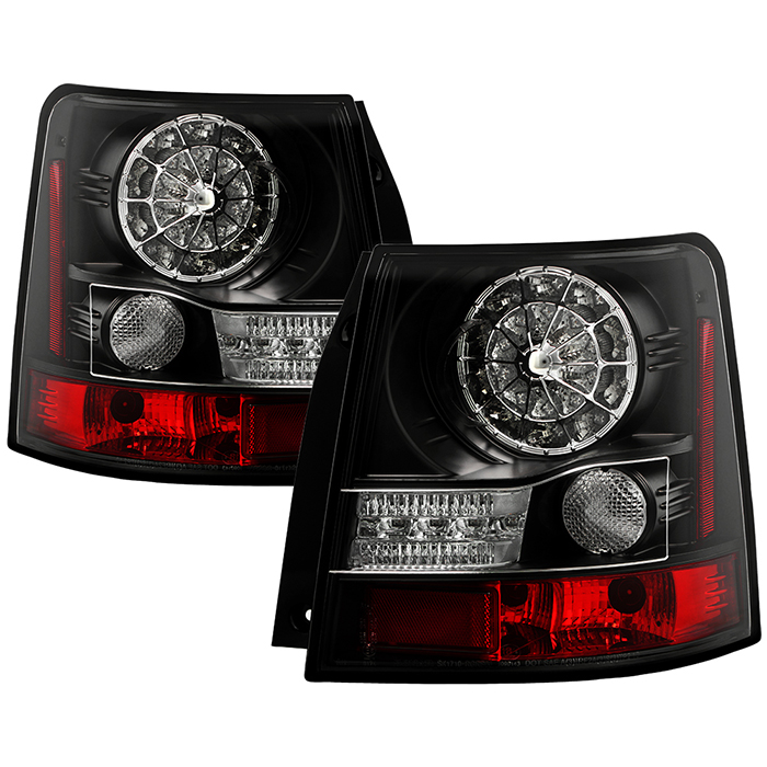 spyder auto land rover range rover sport 06 09 led tail. Black Bedroom Furniture Sets. Home Design Ideas