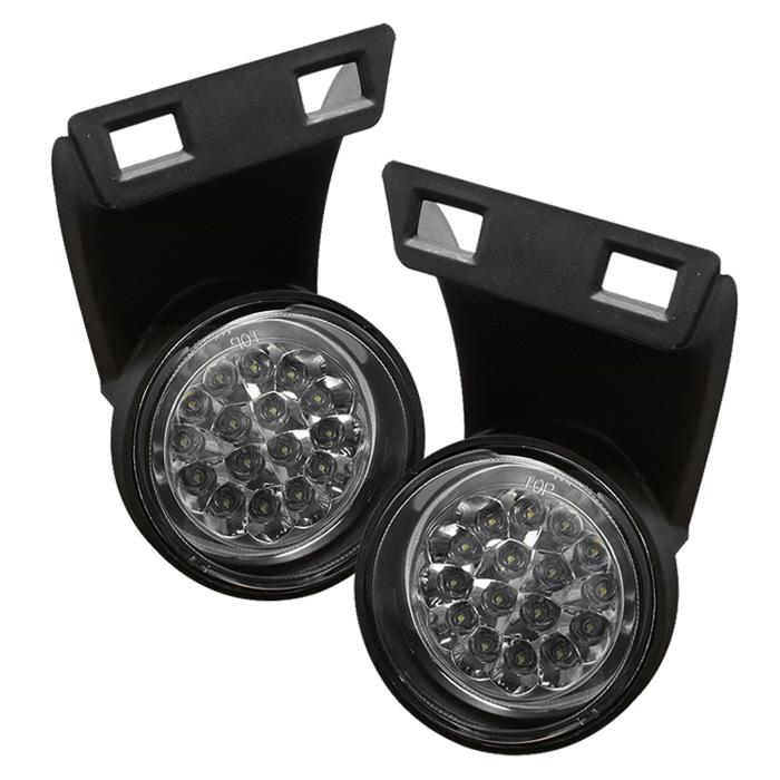 FL LED DRAM94 C spyder auto dodge ram 1500 2500 3500 94 01 led fog lights w 2001 dodge ram fog light wiring diagram at mifinder.co