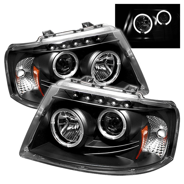 Spyder Auto Ford Expedition 03 06 Projector Headlights