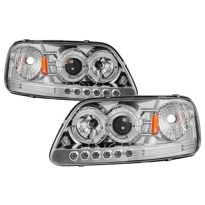Spyder auto ford f150 97 03 expedition 97 02 1pc projector spyder auto ford f150 97 03 expedition 97 02 1pc projector headlights will not fit manufacture date before 61997 led halo amber reflector swarovskicordoba Gallery
