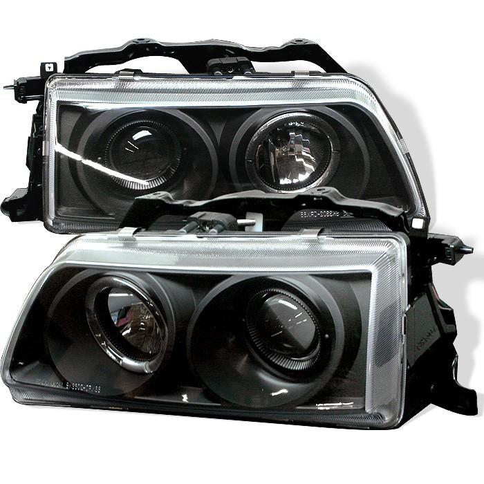 Spyder Auto Honda Civic CRX Projector Headlights - 1991 acura integra headlights