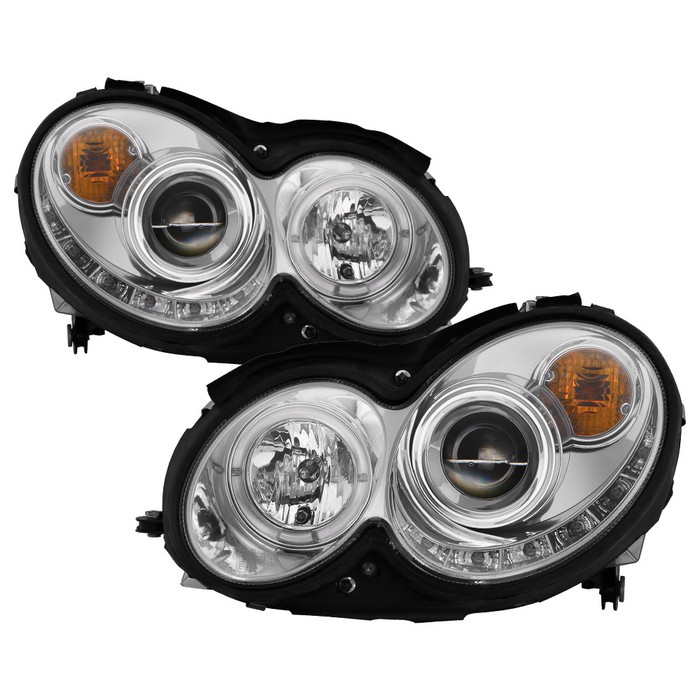 Spyder Auto Mercedes Benz Clk 03 09 Projector Headlights