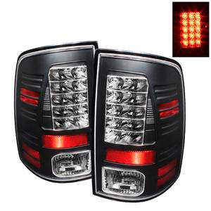 Dodge Ram 1500 09 18 2500 3500 10 Led Tail Lights Incandescent Model Only Not Compatible With Black