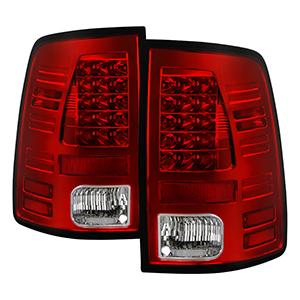 Spyder Auto 5084064 LED Tail Lights Fits 13-18 1500 2500 3500