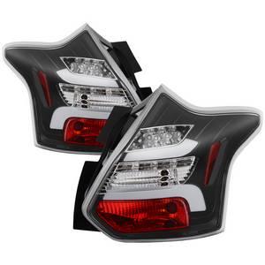 2013 ford focus spyder autoford focus 12 14 5dr only ( do not fit 4dr sedan ) led tail lights black
