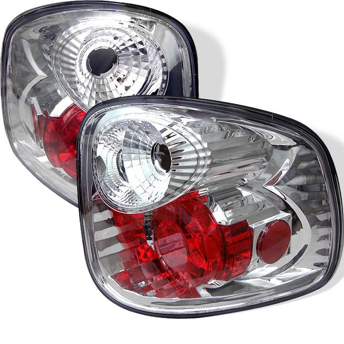 Ford F150 Flareside 01 03 Not Fit Supercrew Euro Style Tail Lights Chrome